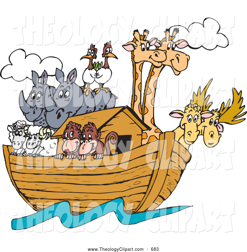 Flooded clipart noah and the flood  Floods Stock Free Designs