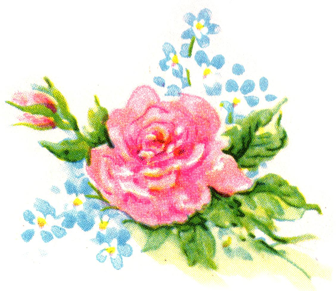 Vintage Flower clipart wedding floral Clipart #28163 image Savoronmorehead floral