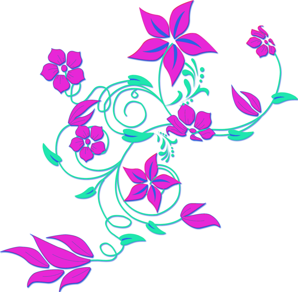 Floral clipart abstract PNG Purple Clip Floral Like