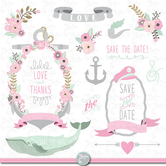 Anchor clipart floral Flowers