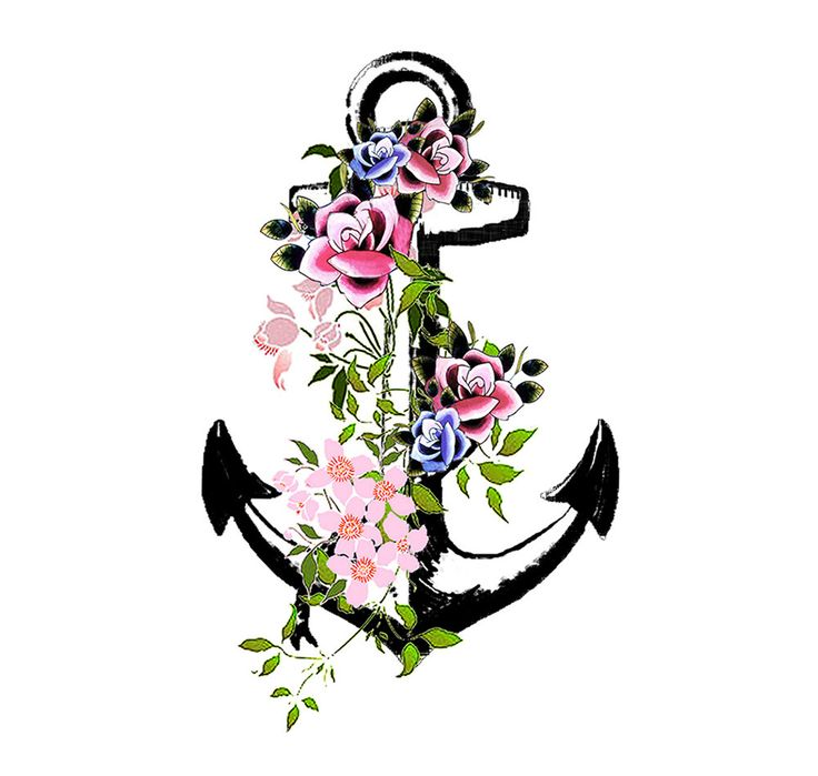 Floral clipart anchor Tattoo 20+ ideas on Die