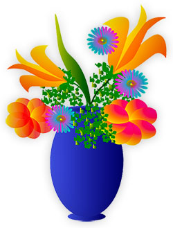 Floral clipart animated flower Clipart full flowers Pictures of