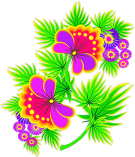 Yellow Flower clipart flower leaves Flower Clipart Flowers yellow and