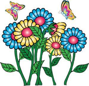 Peach Flower clipart animated flower Around AWSOME 20+ flowers Cartoon