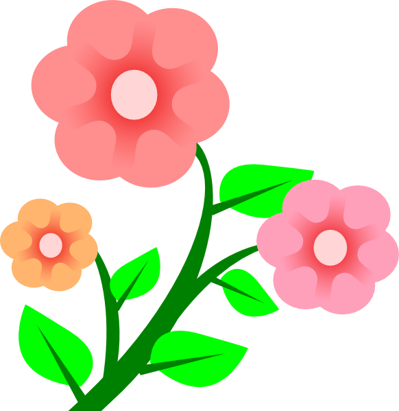 Floral clipart animated flower Clip this as: at com