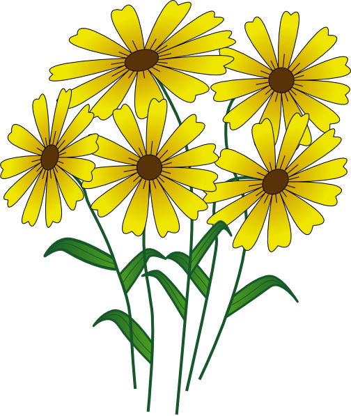 Floral clipart animated flower Flowers Flowers Art clipart Clip
