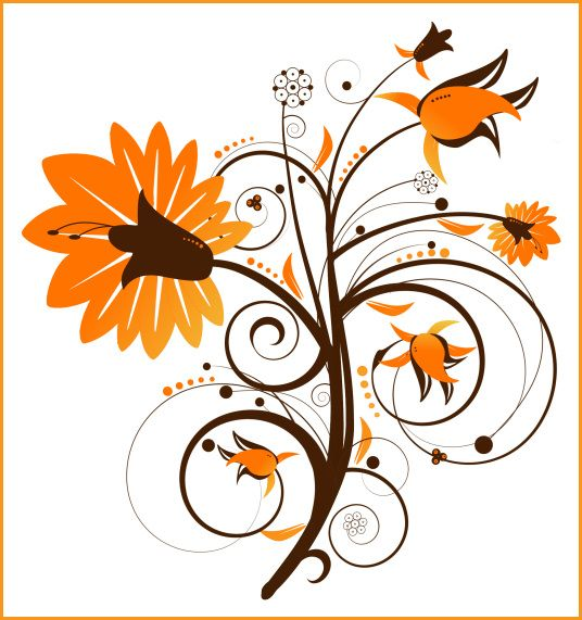 Gallery clipart august flower Fall Collection flower Art