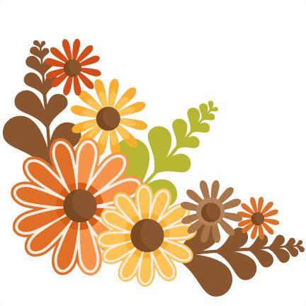 Floral clipart autumn flower Pin more about Clipart Autumn