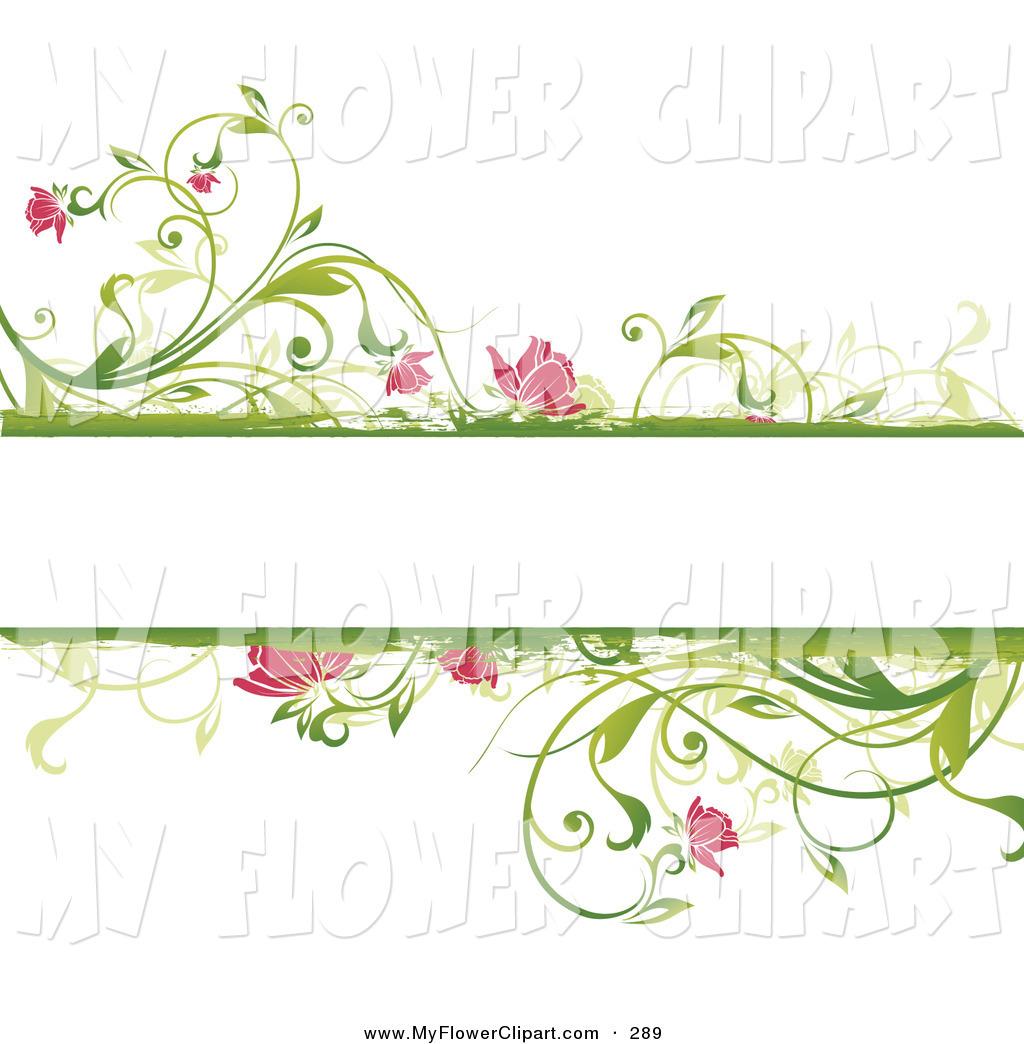 Floral clipart boarder Border art clip  Search