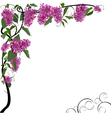 Floral clipart boarder Clipart Trends Border clipart for