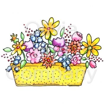 Floral clipart box About Floral  Illustration inspiration