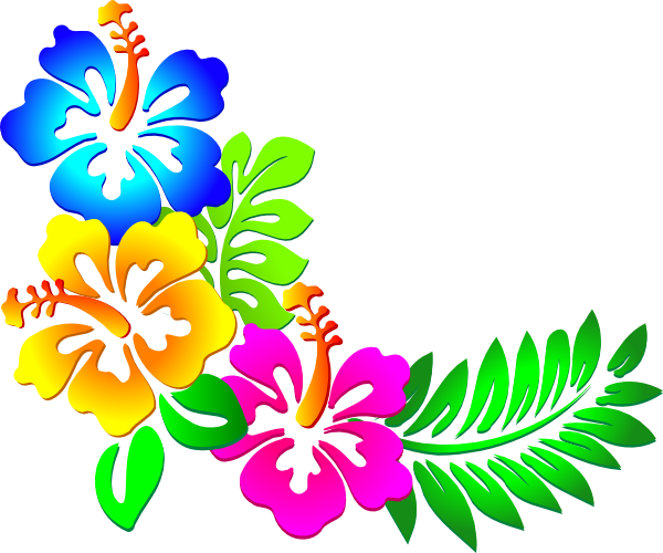Floral clipart corner border Free library Png Art Png