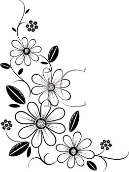 Floral clipart corner border 25+ Royalty Clip Best and
