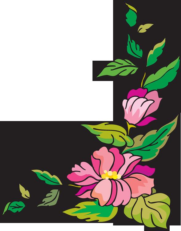 Floral clipart corner border Free Clipart Clipart Clipart Clip
