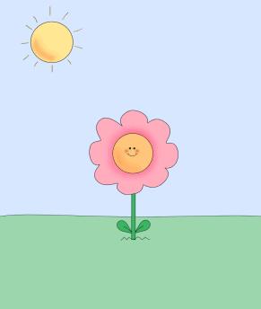 Illustration clipart cute flower Art Clip Images Flower Flower