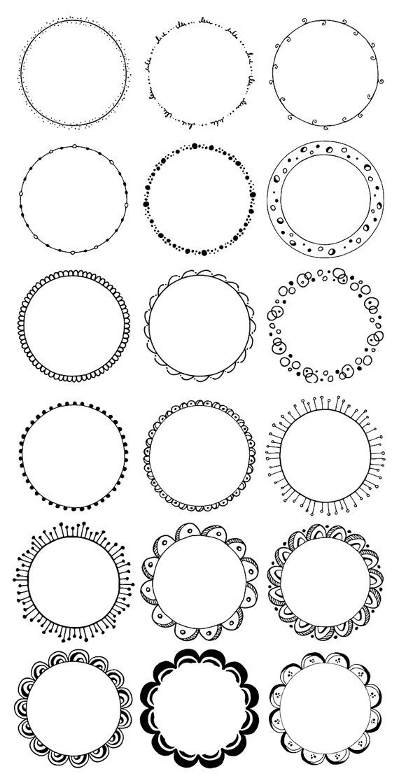 Lines clipart circle Drawn Hand 36 Frames 25+