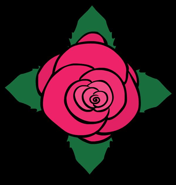 Floral clipart decorative symbol Symbol decoration flower leaves