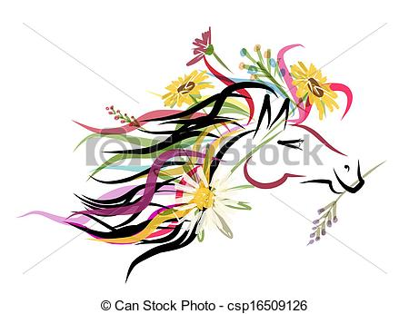 Floral clipart decorative symbol Decoration Vector head 2014 floral