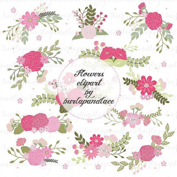 Illustration clipart wedding flower Flowers flower Clip Art Flower