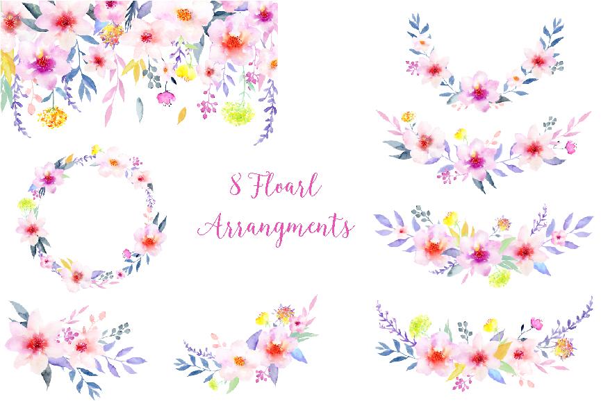 Floral clipart elegant flower Clipart com Elegant Flower