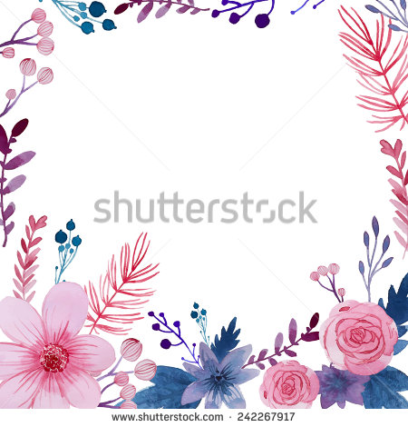 Floral clipart elegant flower Free for about about (15