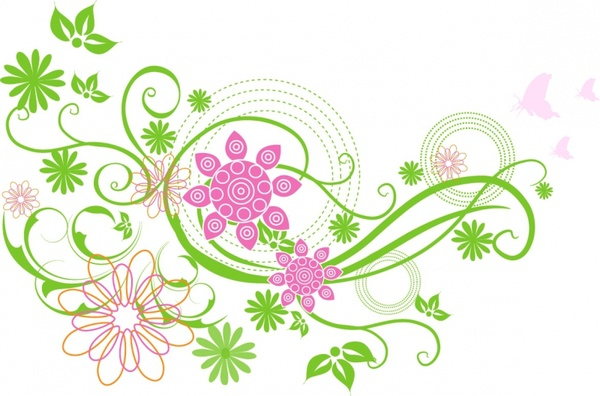 Bright clipart spring flower Flower clip 747 download Free