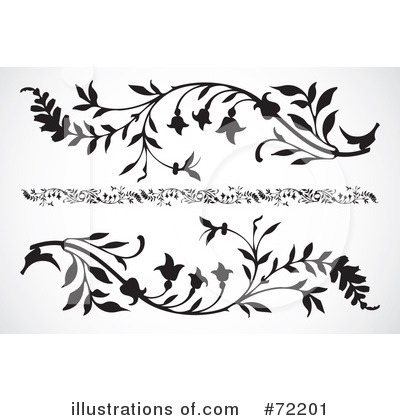 Floral clipart floral scroll #72201 BestVector Scroll #72201 Clipart