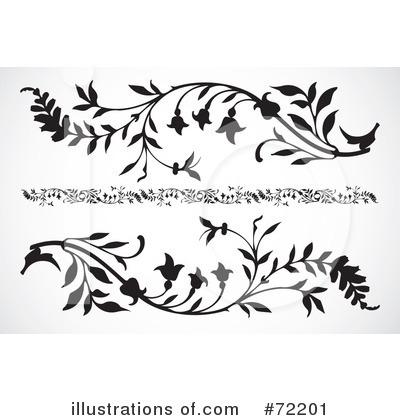 Floral clipart floral scroll Illustration Royalty BestVector Illustration Floral