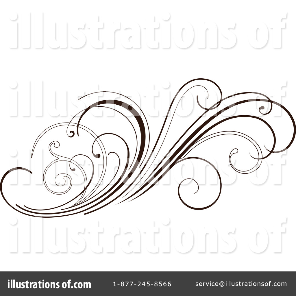 Floral clipart floral scroll #68736 OnFocusMedia Scroll #68736 Clipart