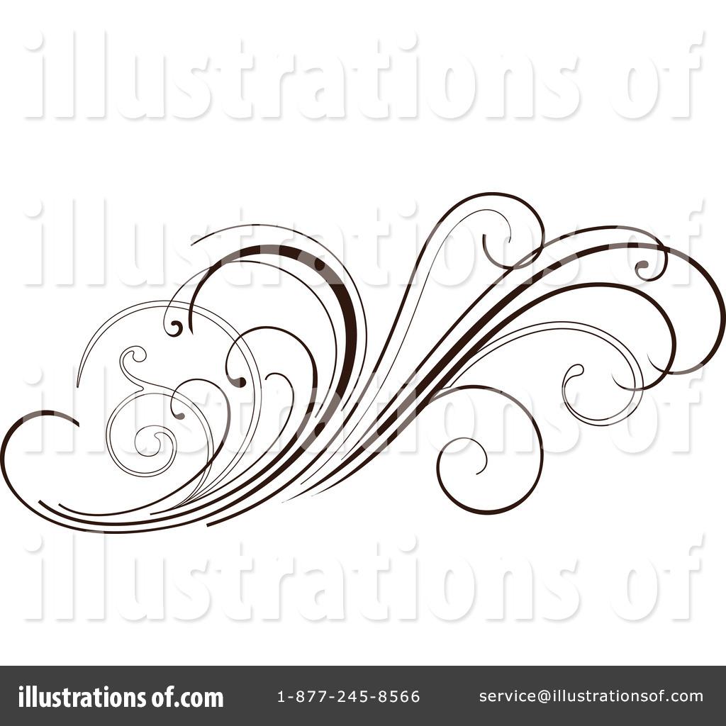 Floral clipart floral scroll Illustration Royalty OnFocusMedia Illustration Floral