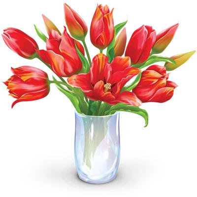 Simple clipart flower bouquet Bouquet Flowers Art Flowers Of