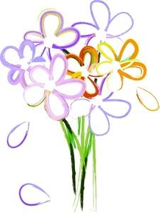 Wildflower clipart flower bucket Lavender clipart Clipart art Collection