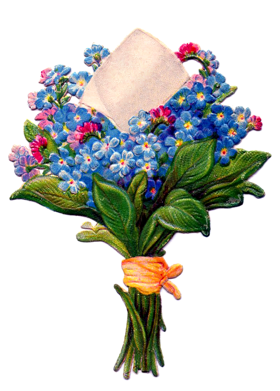 Bouquet clipart spring flower bouquet Library Bouquet Of Clip Download