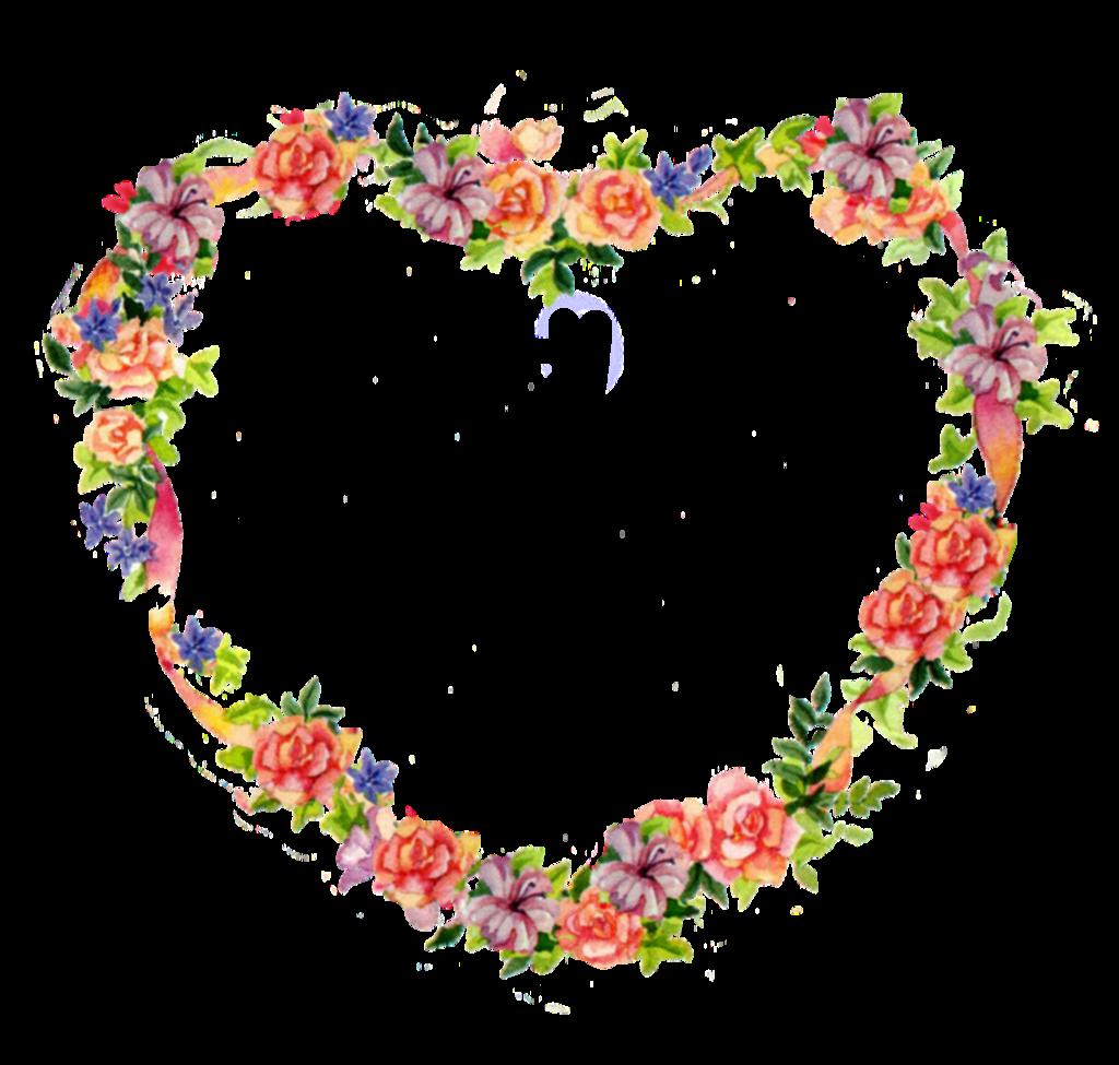Floral clipart flower heart Clip tattoos floral Jinifur tatoos