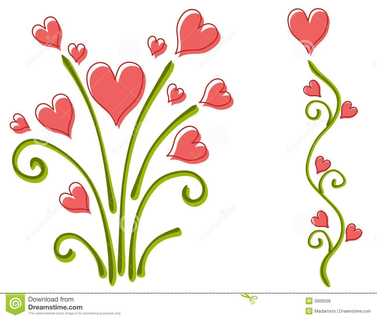 Floral clipart flower heart Clipart%20flowers%20and%20hearts Clipart Hearts Free Clipart