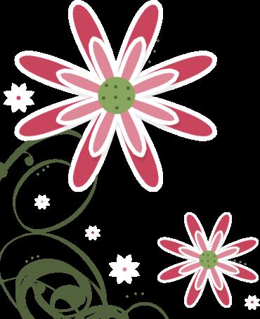 Swirl clipart cute Flower Art Swirl Flower Images