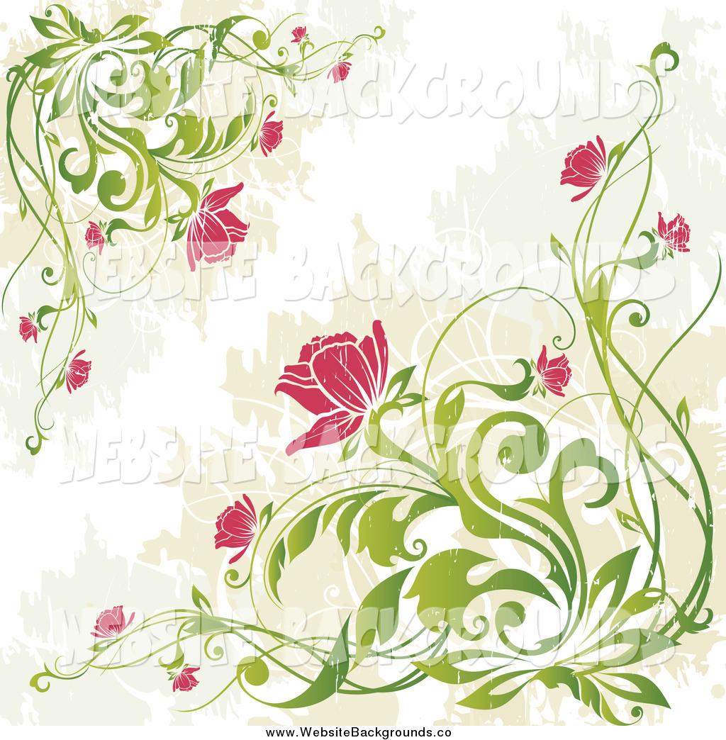 Vintage Flower clipart background Vintage Background Flowers Background http://websitebackgrounds