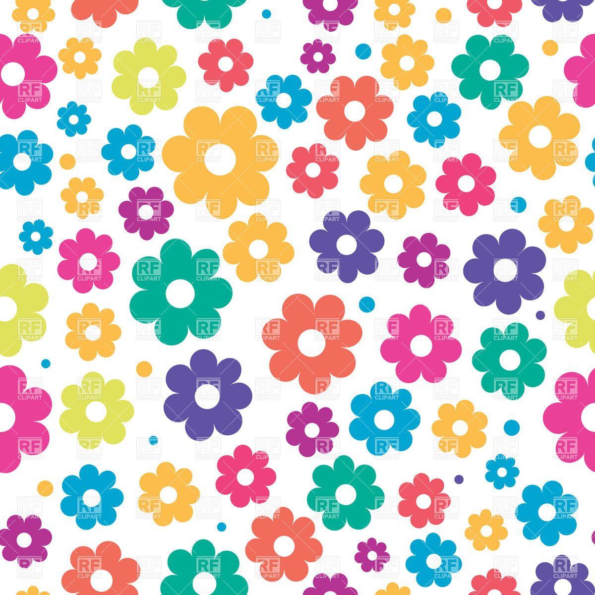 Line Art clipart flower wallpaper Cave Floral Backgrounds Clip Seamless