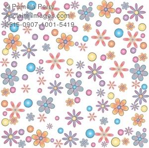 Line Art clipart flower wallpaper Background Floral Wallpaper or of