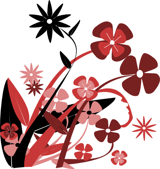 Floral clipart flowery Graphics and Clipart Flowers Free