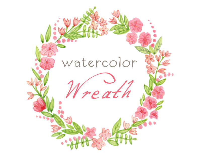 Frame clipart watercolor Digital Frame Frame Clipart Digital