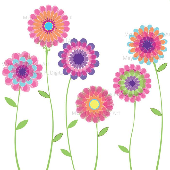 Decoration clipart may flower Clipart Flowers on images Spring