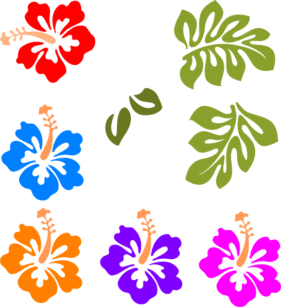 Buttercup clipart hawaiian flower Hawaiian clipart free art hawaii