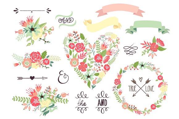 Illustration clipart wedding flower  Creative on Illustrations Illustrations