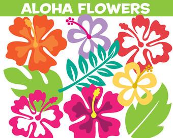 Tropics clipart hibiscus flower #6