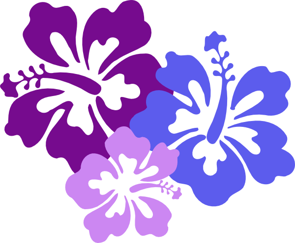 Yellow Flower clipart hawaii flower Vector 8 image Clker this