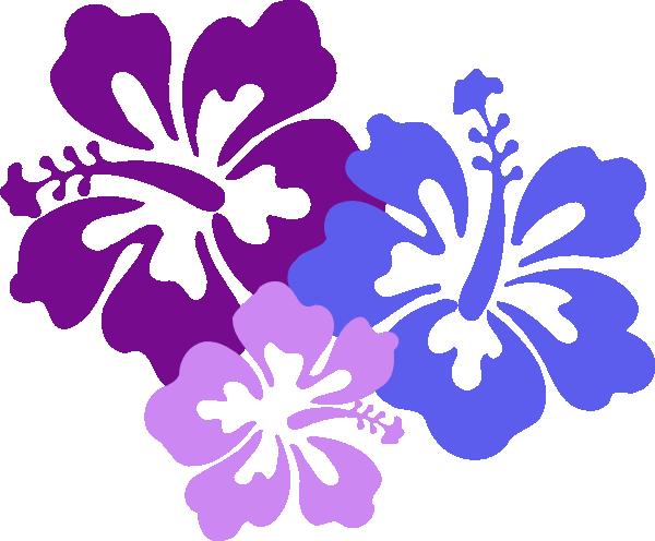 Yellow Flower clipart hawaii flower Vector Clip Clker art Hibiscus