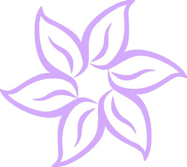 Floral clipart lily Purple Clip lilies collection flowers