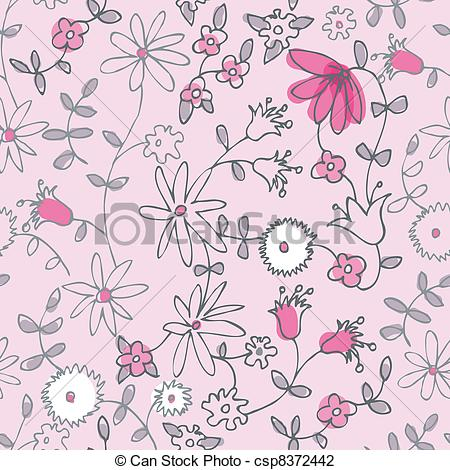 Pink Flower clipart little flower Pattern Pink flower of Pink