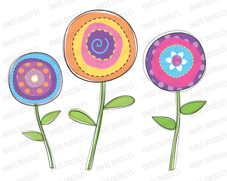 Nature clipart spring flower #4